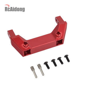 Image 2 - 1/10 RC Alloy Front Servo Stand Rear Bumper Mount For 1:10 RC Crawler Traxxas Trx4 TRX 4 Upgrade Parts
