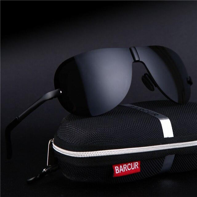 2017 Male Sunglasses Rimless for Men glasses Brand Designer with High Quality Rimless Sunglasses Black