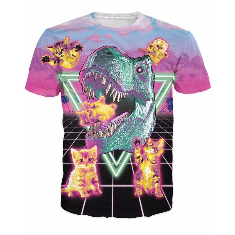 Neue Ankunft 2018 Lustige 3D T-shirt Männer zebra Gedruckt Top Tees - Herrenbekleidung - Foto 2