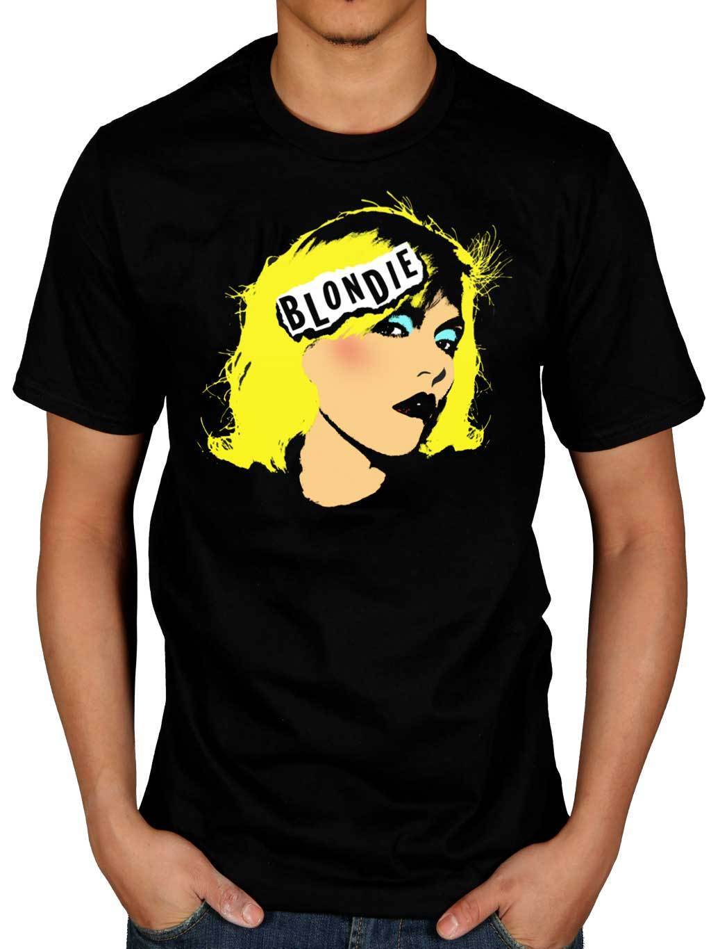 New design fitness funny Blondie Pop Art T Shirt Eat To The Parallel Lines Best Of Blond Printed T Shirt