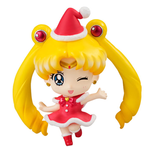 sailor moon petit chara christmas special 6 figure full set anime toy 100 original in action toy figures from toys hobbies on aliexpresscom