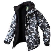 New Edition SouthPlay Men's Waterproof 10,000mm Winter Season Warming Gary Military Jacket