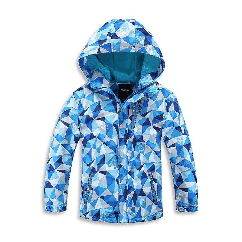 Водонепроницаемый индекс 5000-10000 мм Куртки для маленьких мальчиков; теплое ветрозащитное Детское пальто Детская верхняя одежда детская одеж...