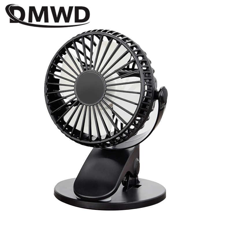 Black IhDFR Turbo Desktop Fan Office Dormitory Creative Mute Mini USB Small Fan Battery Charging Mode Fan