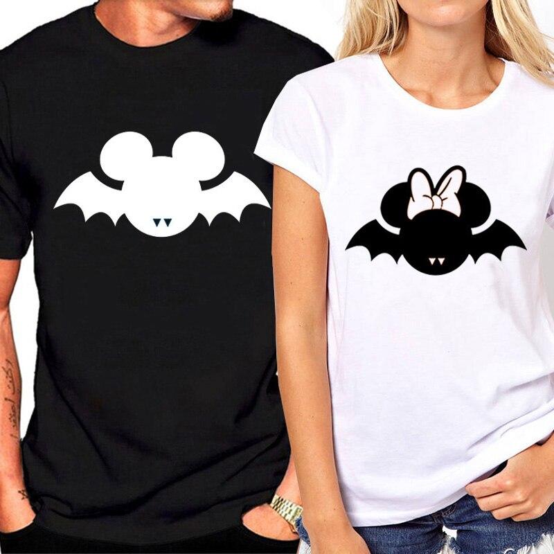 Matching Couple Lovers Ζευγάρια T-shirt Χαριτωμένο - Γυναικείος ρουχισμός - Φωτογραφία 3