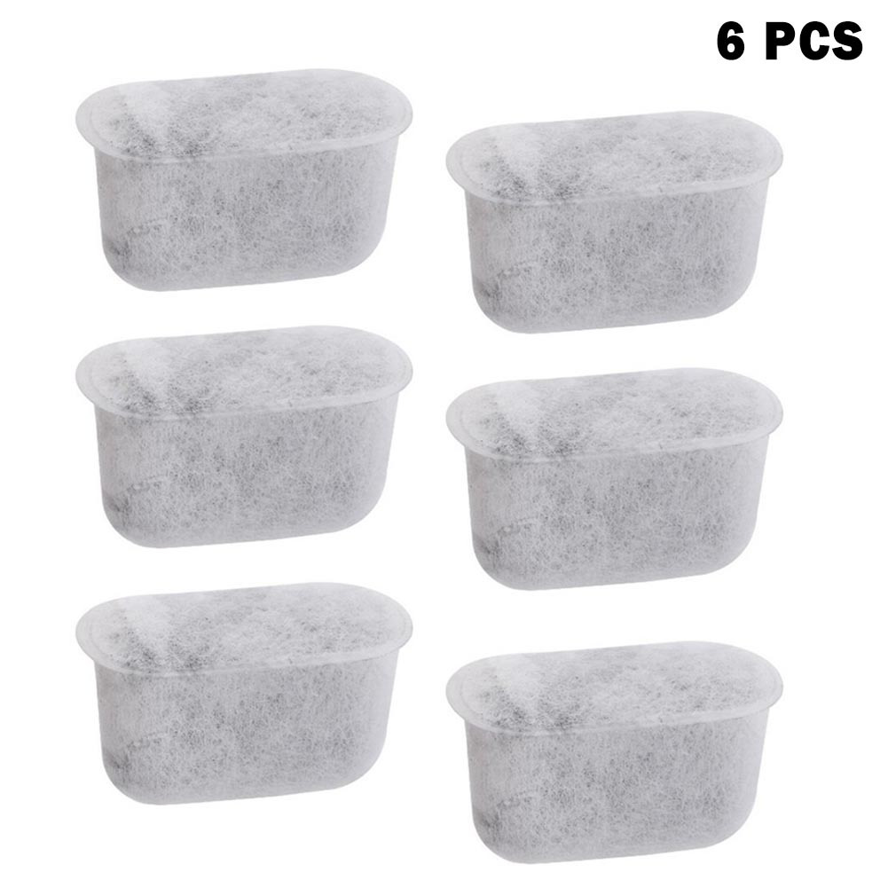 6 Pcs/Set Hot New Charcoal Water Filters For Breville Coffee Machine Water Dispenser Sports Kettle HY99 AU01