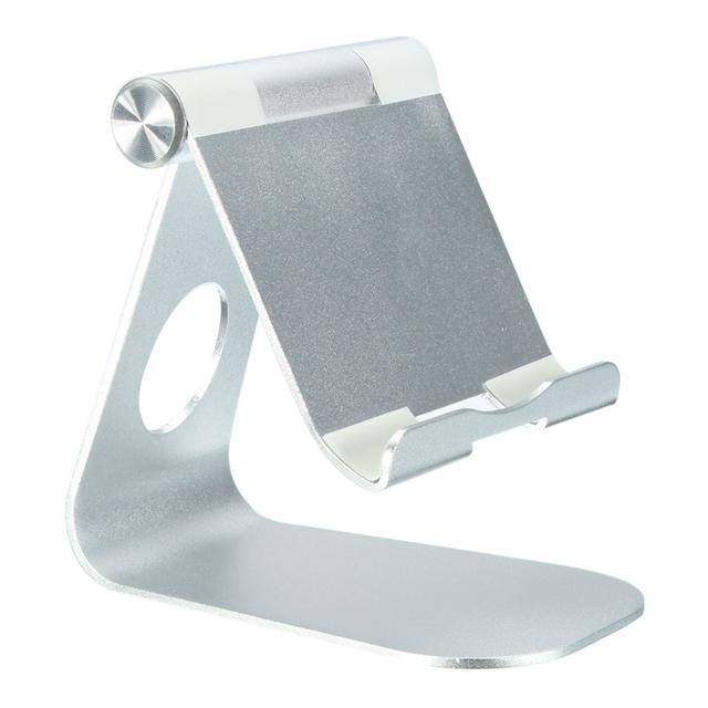 Universal phonetablet pc suporte suporte para ipad mini alta qualidade de mesa de alumínio ajustável stand holder mount para iphone