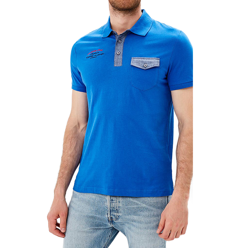 Polo Shirts MODIS M181M00164 men t-shirt cotton for male TmallFS
