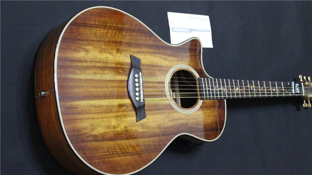 free shipping lefty acoustic guitars left handed koa wood acoustic electric guitar on sale. Black Bedroom Furniture Sets. Home Design Ideas