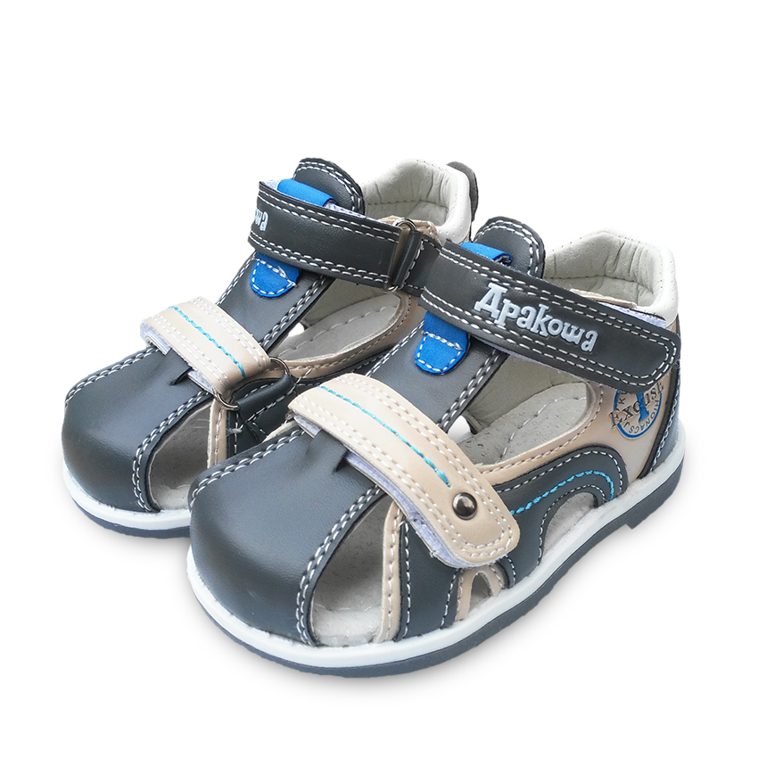 Free-Shipping-1pair-Orthopedic-summer-Children-Sandals-Boy-shoesinner-118-148cm-soft-outsole-Shoes-KidBaby-shoes-2