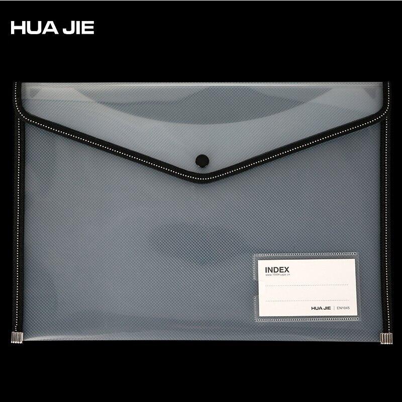 Document File Bag Transparent Mesh Paper File Storage Paper Organizer File Folder Filing Product Office Supplies EN1045