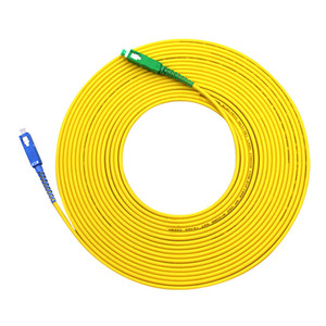 Image 4 - Cable de conexión de Fibra para Fibra Optica, Cable de parche de Fibra de 1m 2m 3m, puente FTTH Simplex de 2,0mm, SC APC to SC UPC G657A