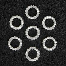 100 шт./лот 12 мм ABS искусственный жемчуг круглый Разработанный плоской задней кабошон жемчуг для украшения DIY 2016 Новинка