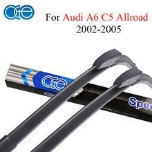 Oge Windshield Wiper Blades For Audi A6 C5 Allroad 2002 2003 2004 2005 Windscreen Silicone Rubber Auto Car Accessories