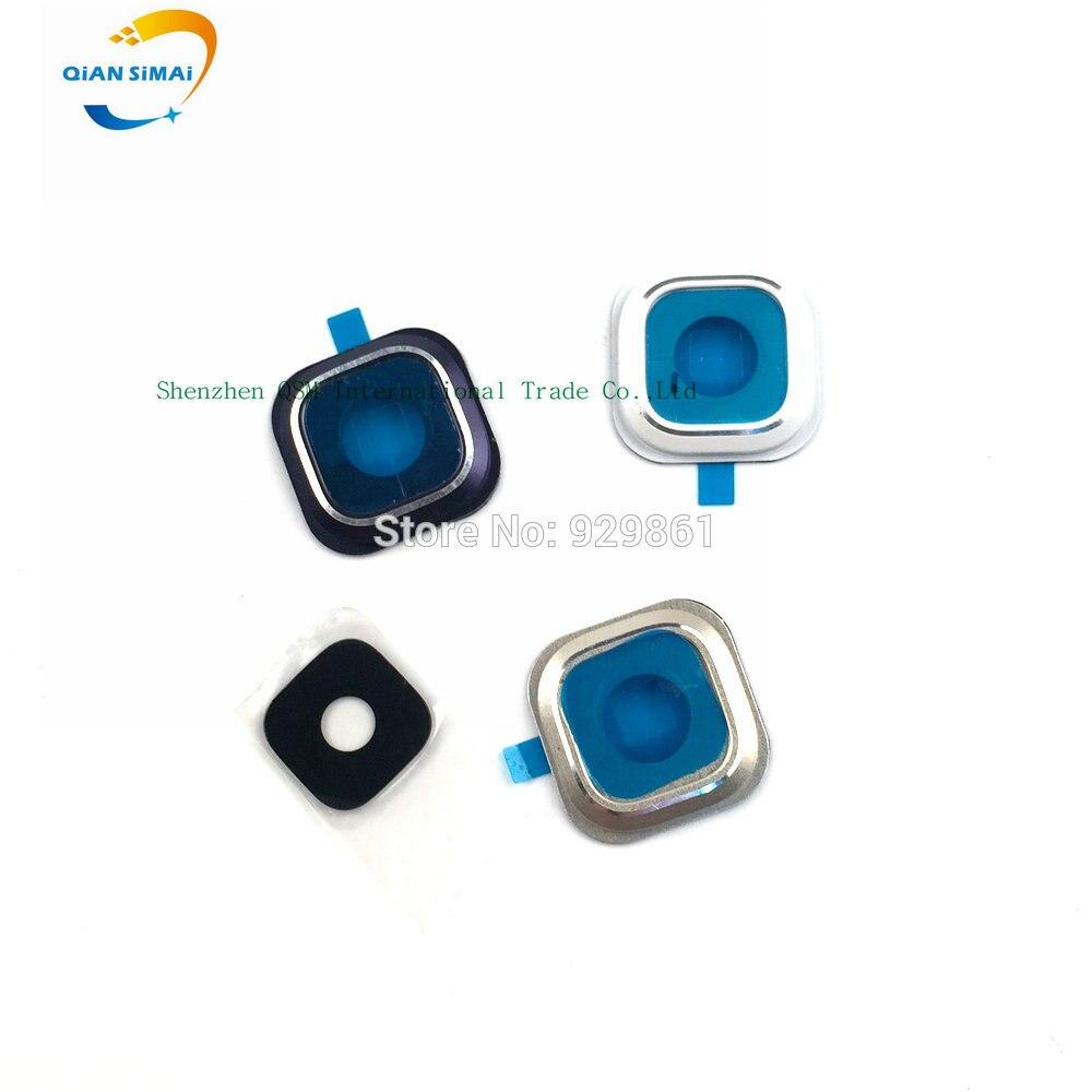 QiAN SiMAi 1set Original Note 5 Camera Glass Lens + Cover Circle For Samsung Galaxy Note 5 Note5 N920 N920F Phone