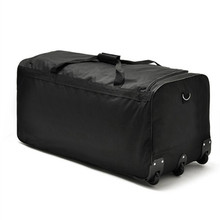 fashion  super large rolling luggage bag, trolley travel bag canvas,suitcase for unisex, convenient trolley case,