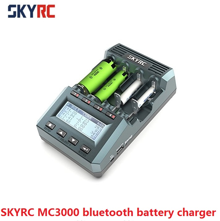 SKYRC MC3000 bluetooth charging cylindrical battery charger for Ni MH Nickel Nickel Zinc Battery Charging