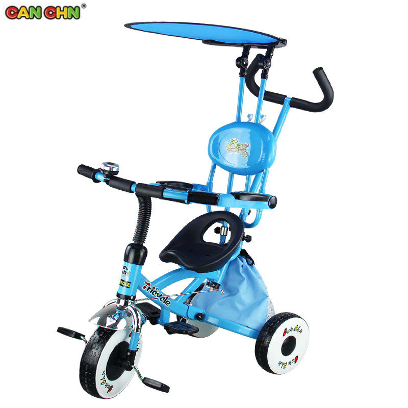 CANCHN kids tricycle with PVC wheel, portable children bike, foldable baby tricycleCANCHN kids tricycle with PVC wheel, portable children bike, foldable baby tricycle