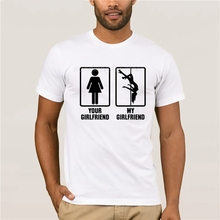 100% Cotton You Girlfriend And My T Shirt Men Streetwear Summer For Man Tee S-6XL Plus Size Short Sleeve