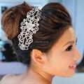 Nova Moda Chegada Luxuious Cristal Princesa Tiaras Crown Charme Brilhante Rhinestone Diadema Para O vestido de Casamento Da Noiva acessórios para o Cabelo