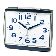 POWER Brand Beep Alarm ,Snooze,Night Light, Silky Move Student alarm clock Silent Quartz Movement desktop clock
