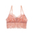Moda feminina Floral Lace Bralette Jovens Meninas Adolescentes Lingerie Cueca Pequeno Sutiã Top Colheita Estilo Verão