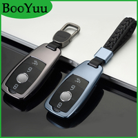 Booyuu High grade Aluminium Alloy For Maybach key Cover For Mercedes Benz Maybach S320I S450 S350 2017 2018 key Case For car