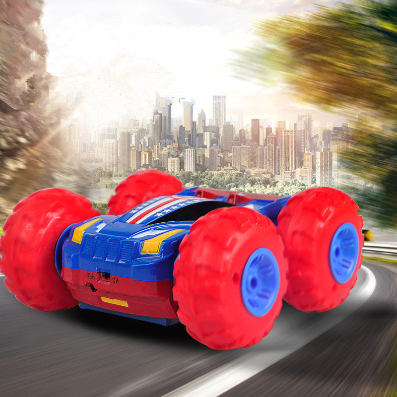 Toys & Hobbies Rc Cars Rapture Hq568 High Speed 20kg/h Resistance Fall Inflatable Rc Car Toys Racing Car Jumping Skip Stunt Car Roll Car With 2 Car Covers High Quality Goods