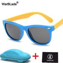 WarBLade поляризованные солнцезащитные очки для детей Детская безопасность Покрытие солнцезащитные очки UV400 очки для мальчиков и девочек с случае
