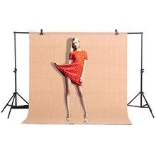 CY ホット販売 1.6 × 2 メートル/5.2 * 6.5ft カーキ写真の背景写真の背景のスタジオビデオ不織布背景画面