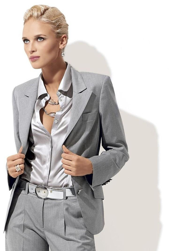 Grey Suit Womens Promotion-Shop for Promotional Grey Suit Womens
