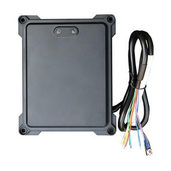12VDC 24Ghz Автомобильный датчик контроля доступа радар Датчик выходной датчик для ворот барьер доступа Бесплатный пропуск