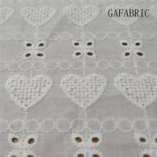 цена на 5 yards Embroidered Cotton Fabric Voile Eyelet 130cm width Embroidered Fabric Cotton Lace Bleached Cotton Lace Fabric