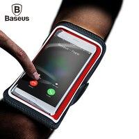De Baseus Caso Impermeable Se Divierte el Brazal Para el iphone 7 6 6 s Plus Teléfono móvil Correr Gimnasio Brazal Para 4 Dispositivos de Teléfono de 6 pulgadas