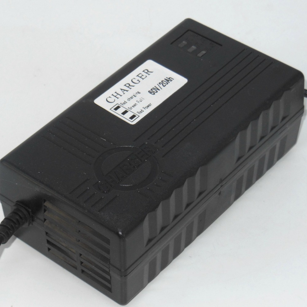 60V 17-20Ah 2.5A Lead Acid Battery Charger/E-Bike Charger/E-scooter Charger