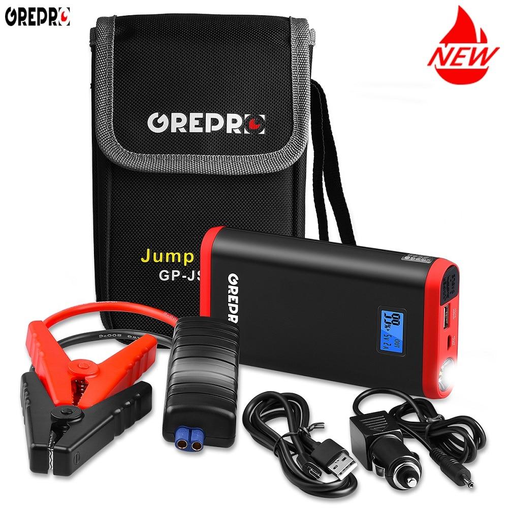 9000mAh Car Jump Starter 500A 12V External Car Battery Multi function Vehicle Emergency Battery Booster Car Starter Power Bank-in Jump Starter from Automobiles & Motorcycles    1