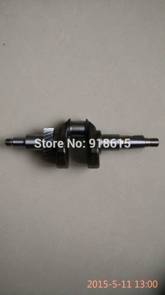 Crankshaft for robin subura EH12 engine mikasa rammer parts replacementCrankshaft for robin subura EH12 engine mikasa rammer parts replacement