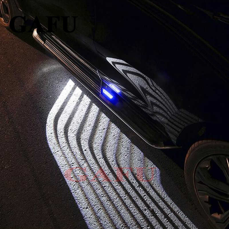 For lada vesta sw Car Welcome Lights Angel Wings Spotlight Car Door Projector Light Ghost Shadow Puddle DC 12V-24V