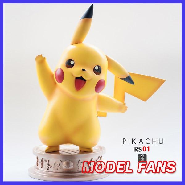 MODEL FANS IN-STOCK 48cm poket monster 1/1 pikachu gk resin statue figure toy for Collection bering часы bering 11139 564 коллекция classic