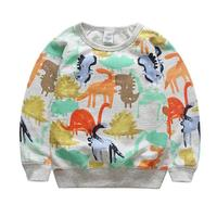 Kids Boy T Shirt Autumn Winter 2017 Cartoon Dinosaur Kids Baby Boy Clothes T Shirts Long