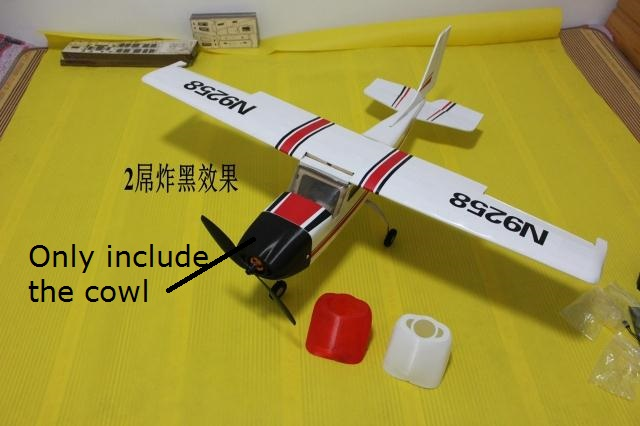 US $7 8 |New 3D Print Cowl for 960mm DIY Balsa Cessna-in Parts &  Accessories from Toys & Hobbies on Aliexpress com | Alibaba Group
