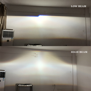Image 5 - RONAN 2.5Ver8.1 blue coating Bi xenon HID MINI projector Lens H1 car headlight H4 H7 base adapter ring Car Styling retrofit