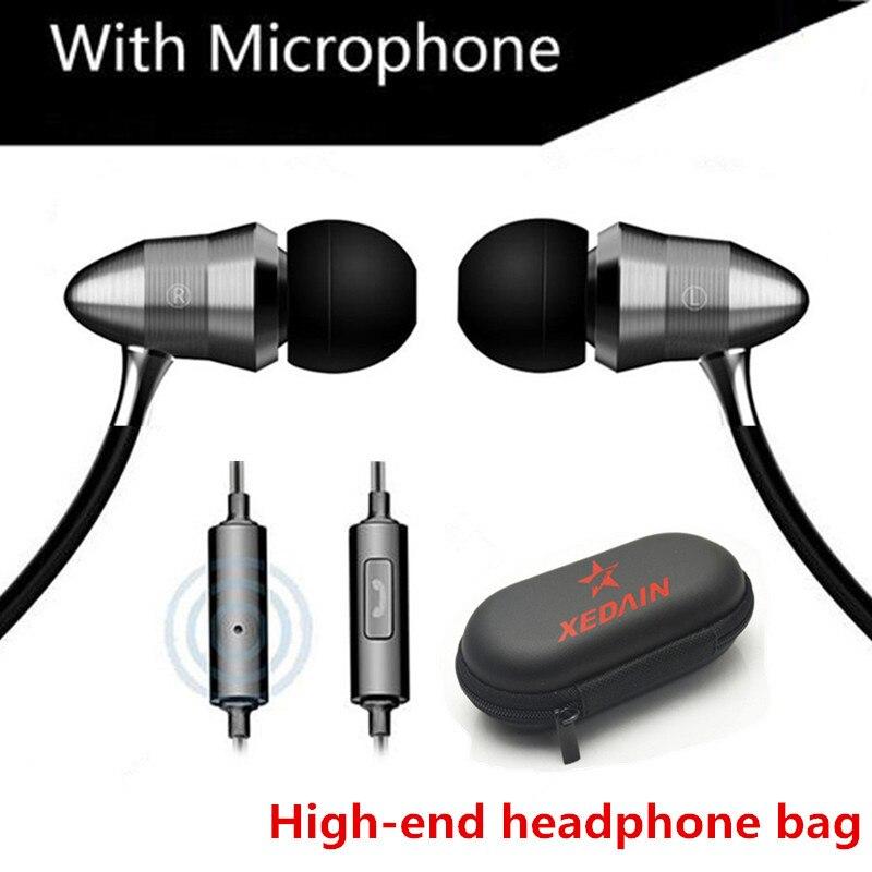 XEDAIN X8 Metal Version Linear HIFI Fever Earplugs In-ear Headphones Professional Sound Quality Heavy Bass Headphones Q Feeling