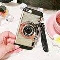 2016 Новый Корейский стиль телефон случае силикагеля для iphone 6 6 s 6 P 6sp бесплатная потягивая крышка телефона