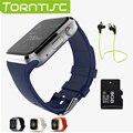 Gd19 torntisc caliente bluetooth smart watch reloj de pulsera de lujo con esfera sms recuerdan podómetro para apple android pk gt08 dz09 u8 gv18