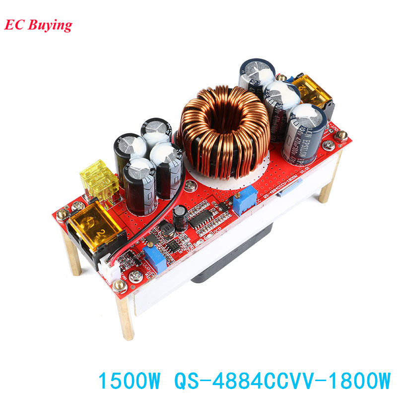 1500W 30A DC DC Step Up Power Supply Module Boost Converter Step-up Board DC 10~60V to 13~97V Electronic DIY PCB