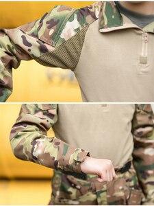 Image 5 - Mege uniforme militar para niños, traje de combate multicámara de las Fuerzas Especiales del Ejército, Multicam, Airsoft, equipo de Paintball CS