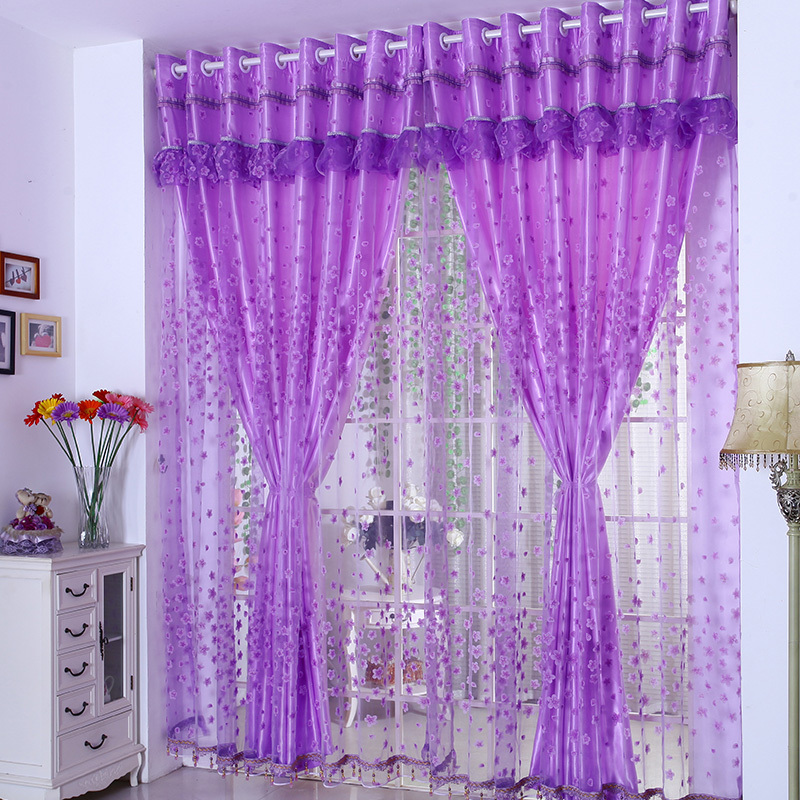 2015 Fashion Window Screening Tulle Finished Luxury Curtains For The Bedroom Living Room Design Sheer Voile