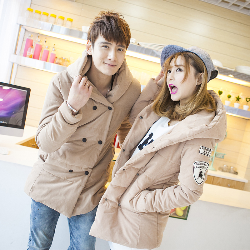 T china cheap wholesale 2016 autumn winter new men women fashion casual big size thickening slim lovers cotton-padded jacket  free shipping 2016 autumn winter new korean version fashion city men slim casual zipper cotton padded jacket cheap wholesale