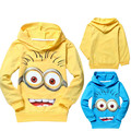 boys girls clothes casual clothing cotton children t shirts despicable me minion kids t shirts clothes Spring hoodies Tops & Tee